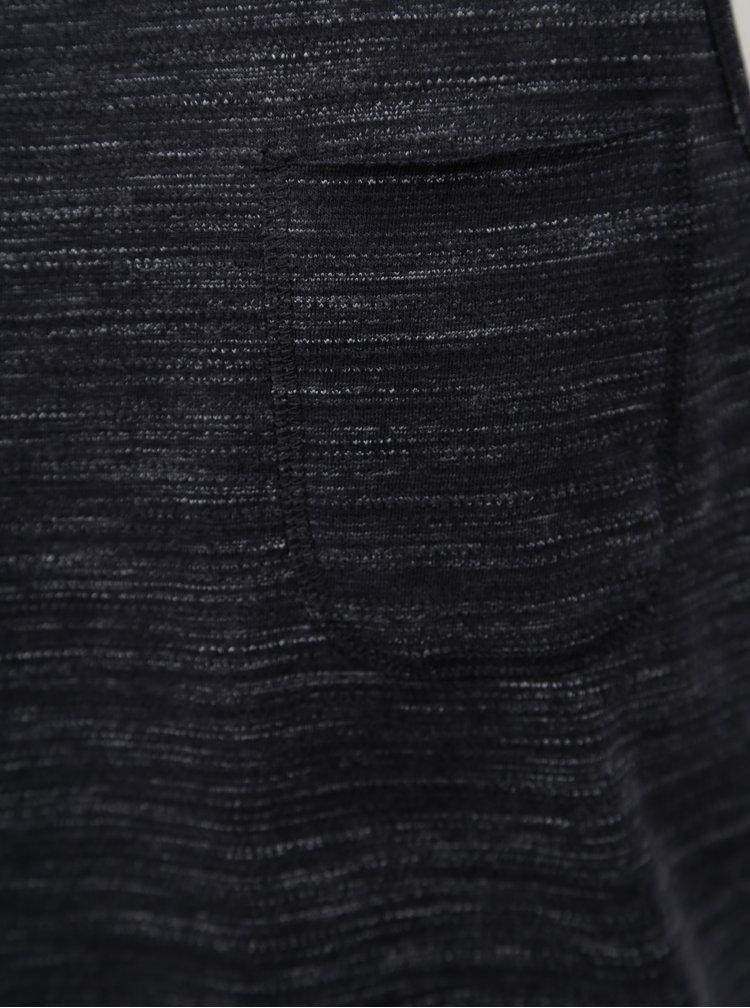 Tmavě šedé pánské žíhané tílko s.Oliver