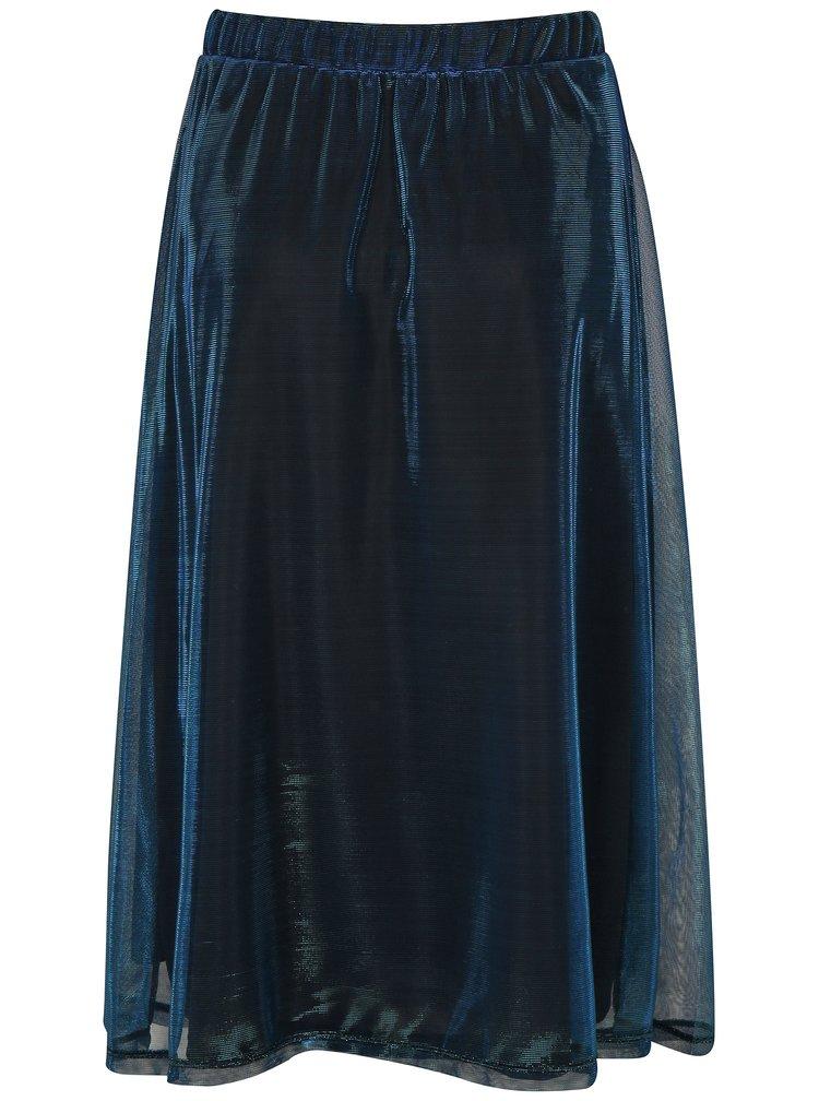 Zeleno-modrá midi sukně Moss Copenhagen Shelly