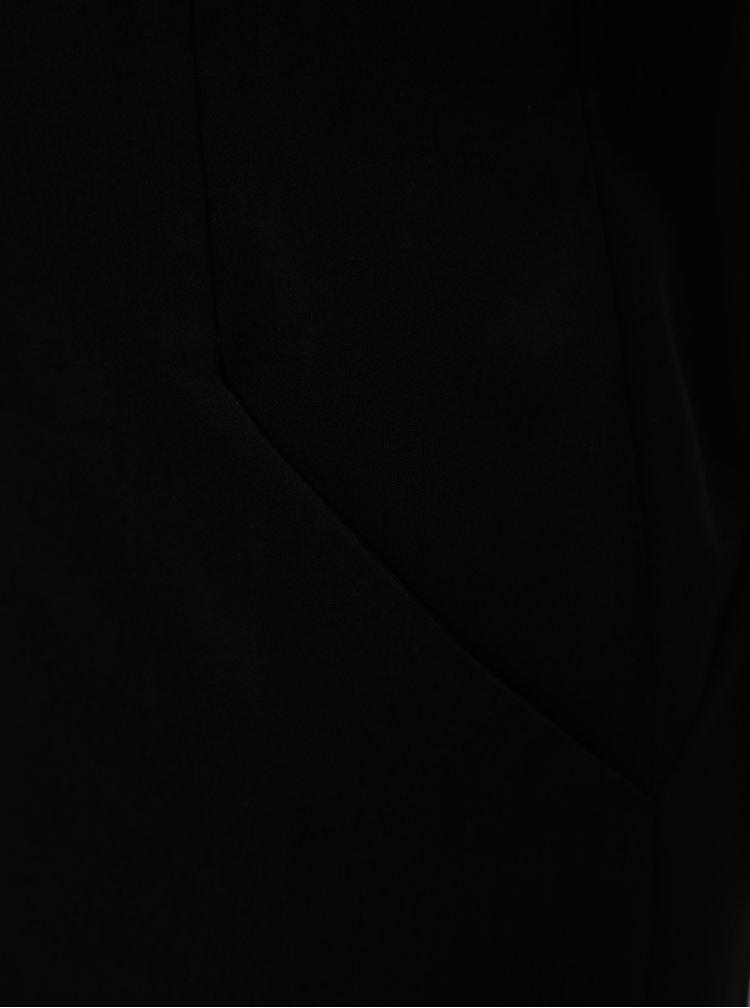 Černé šaty s páskem THAÏS & STRÖE