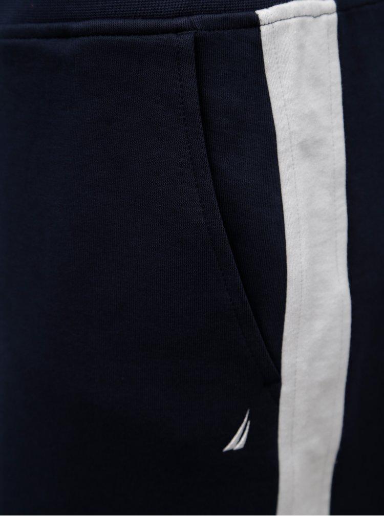 Tmavě modrá sukně s gumou v pase Nautica