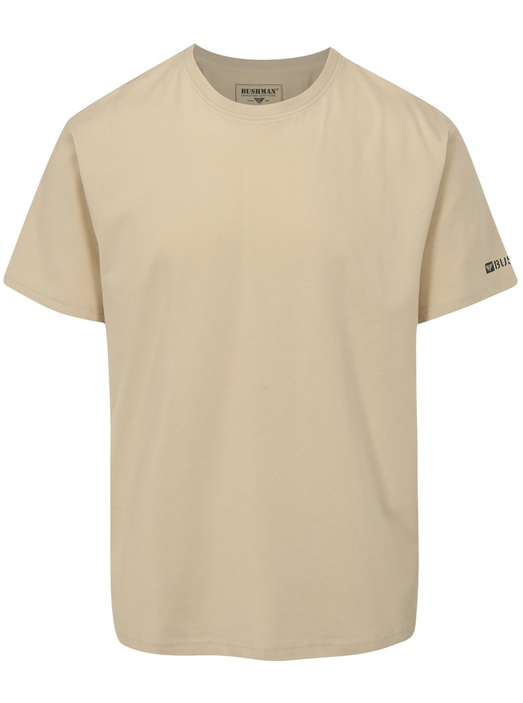 Béžové pánské tričko BUSHMAN Brady