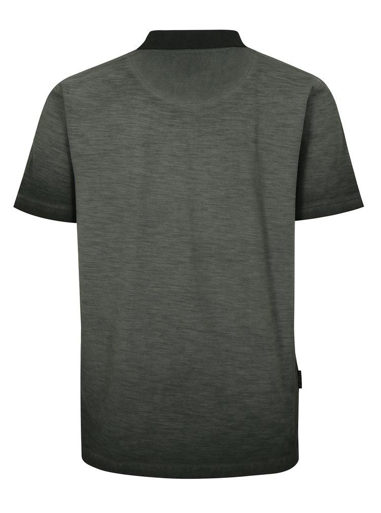 Šedé pánské polo tričko BUSHMAN Lumber