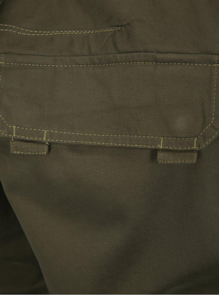 Pantaloni barbatesti scurti kaki cu buzunare BUSHMAN Dabney