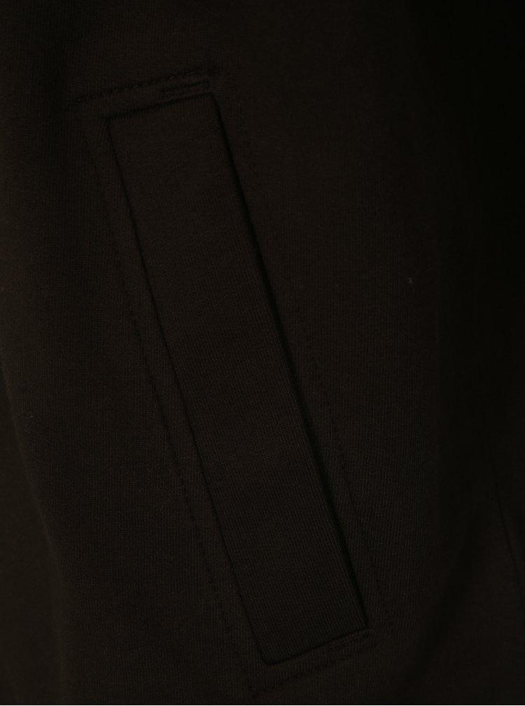 Hnědá pánská mikina na zip BUSHMAN Welsh II
