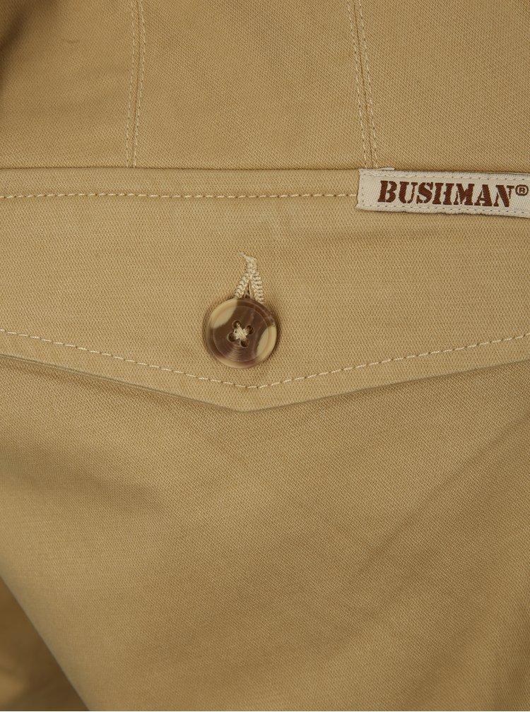 Béžové pánské kraťasy BUSHMAN Bishop
