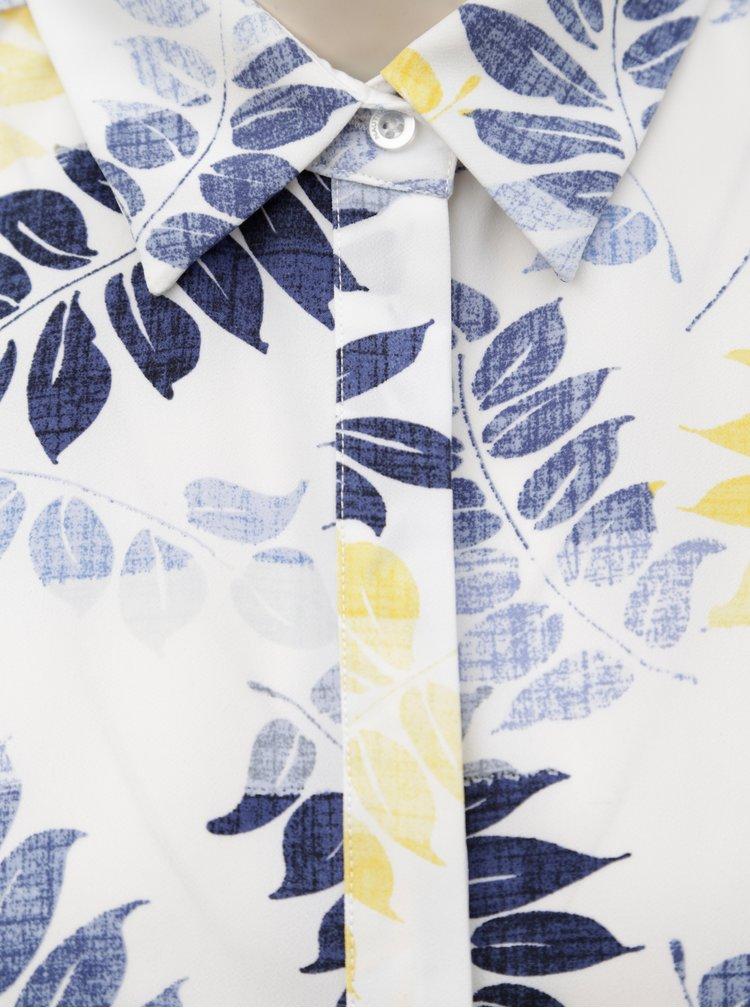 Bílé květované košilové šaty Nautica