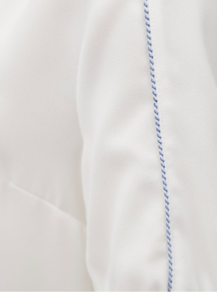 Bílá halenka s véčkovým výstřihem Nautica