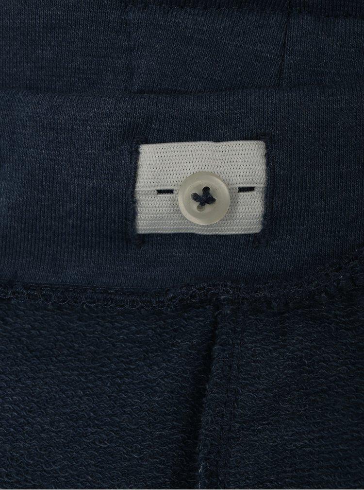 Modré klučičí vzorované kraťasy name it Janik
