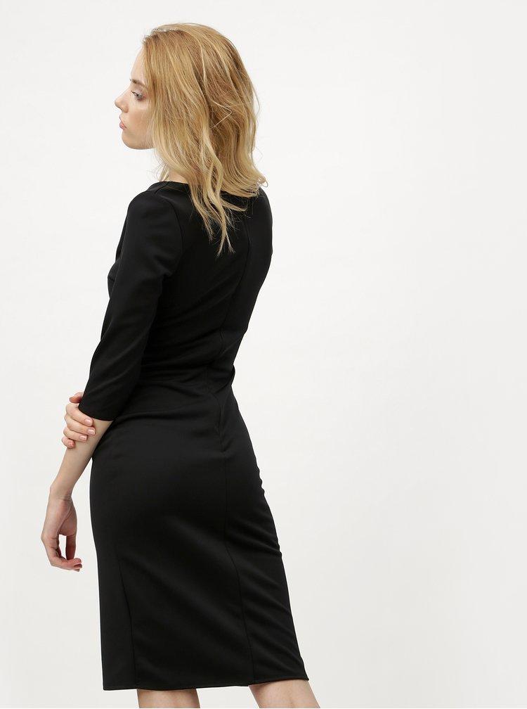 Rochie neagra cu cordon ZOOT