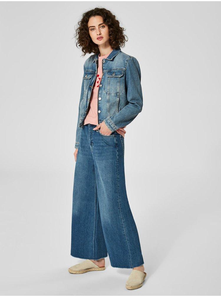 Modrá džínová bunda Selected Femme Day