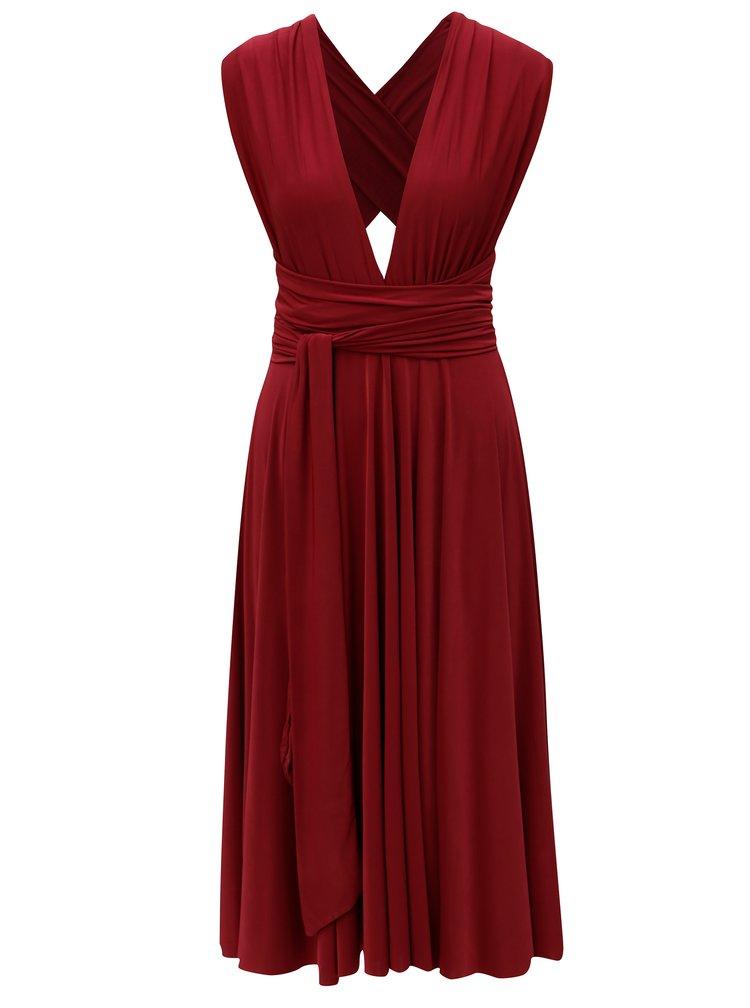Vínové variabilní šaty/sukně ZOOT