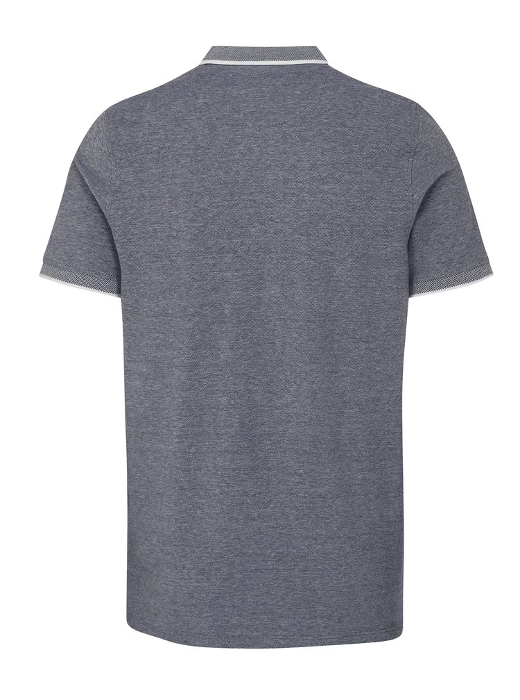 Bílo-modré polo tričko Jack & Jones Paulos