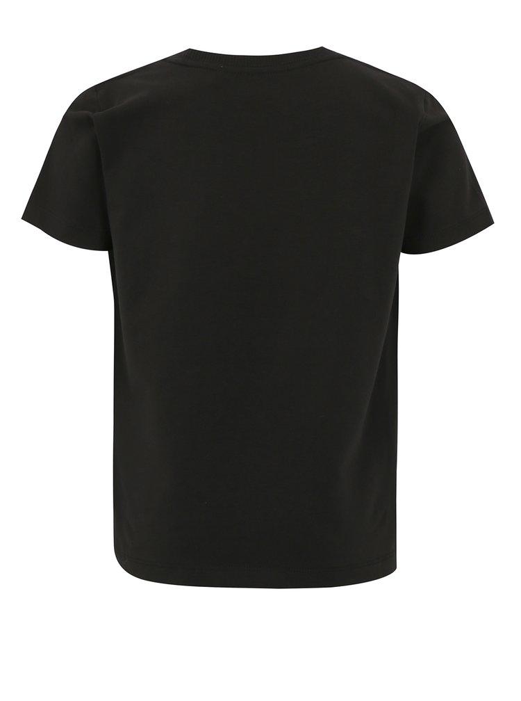 Černé klučičí tričko s potiskem name it Jobo