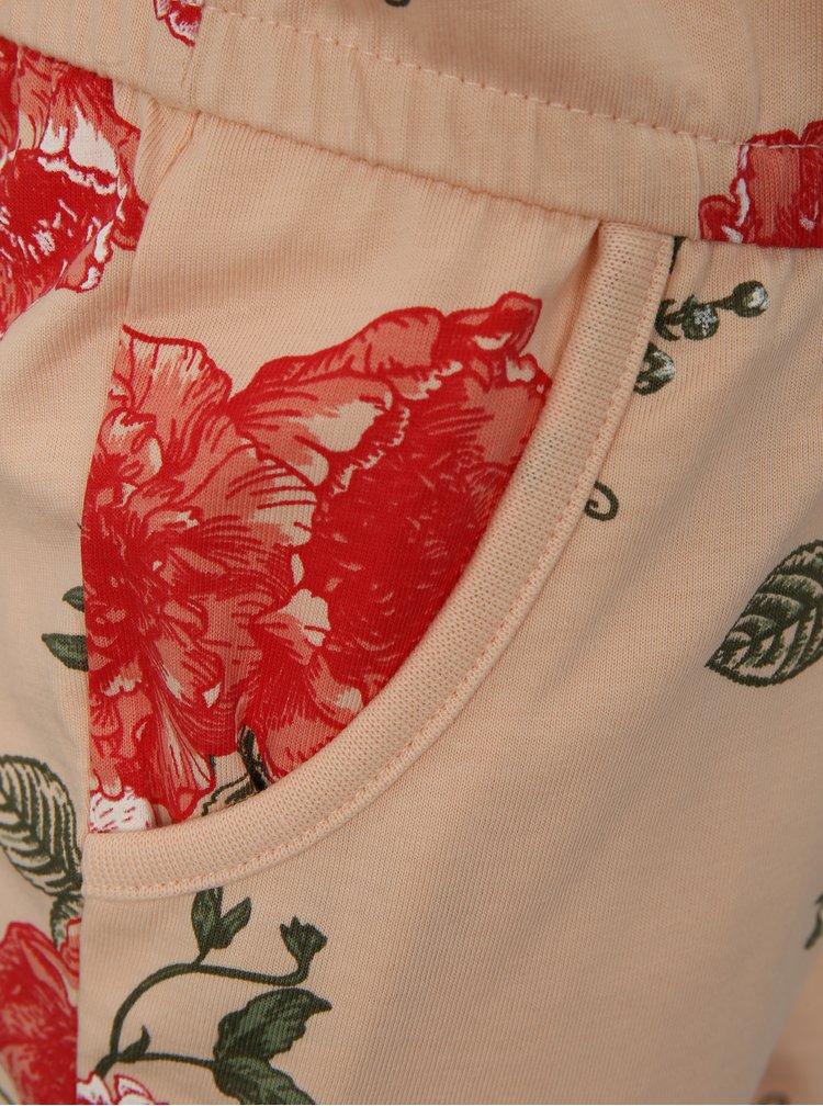 Meruňkový holčičí květovaný overal name it Vigga