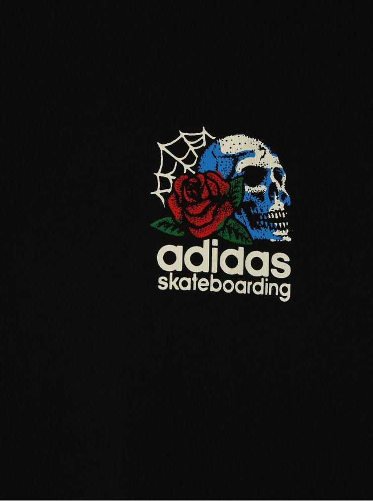 Tricou negru cu model la spate pentru barbati adidas Originals Shackles