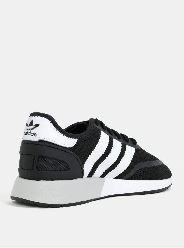 Černé pánské tenisky adidas Originals Iniki Runner