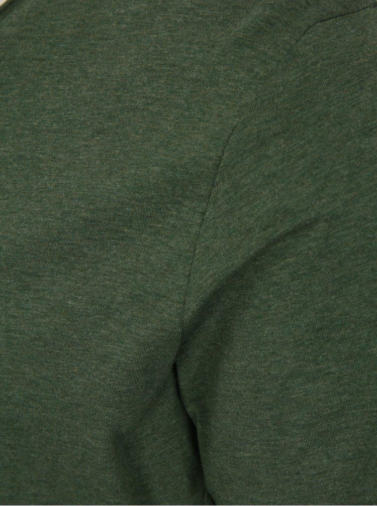 Zelené basic tričko Selected Homme Shine