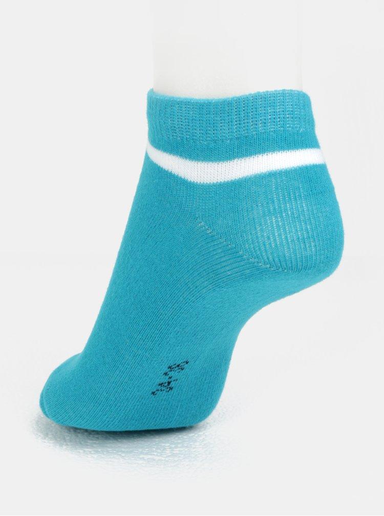 Sada tří párů klučičích ponožek v modré barvě name it Janik