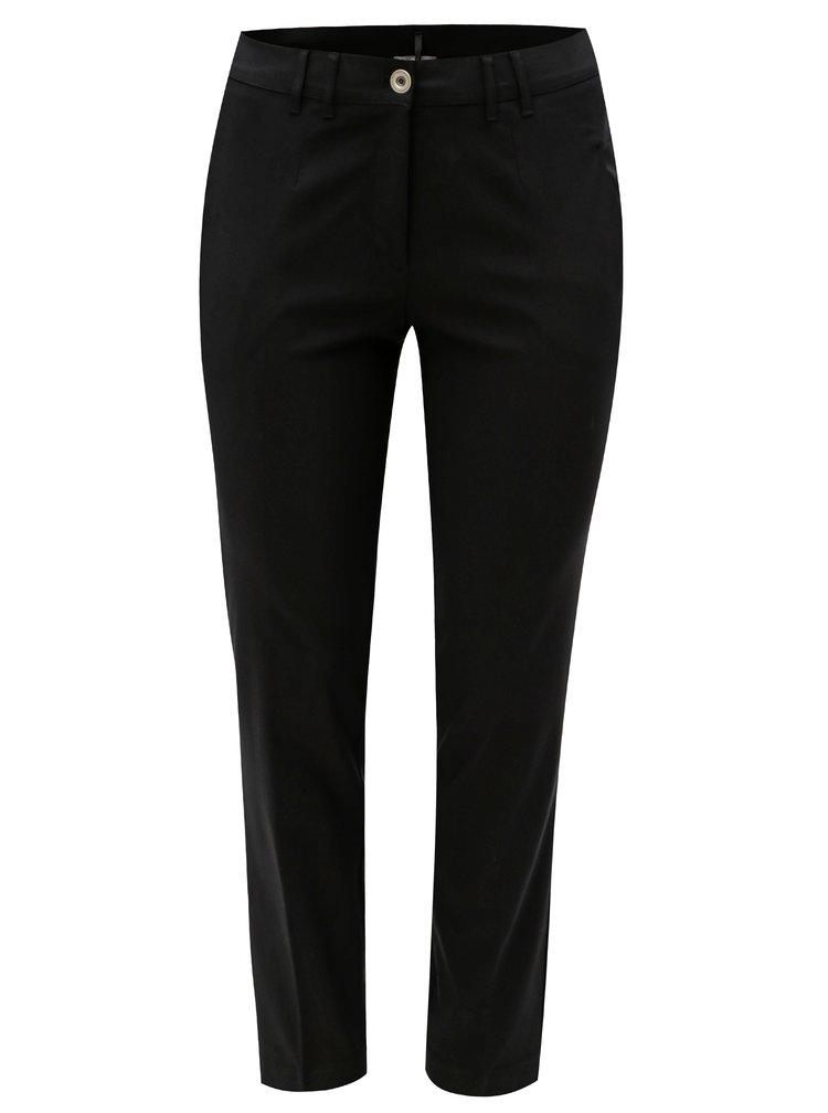 Černé slim fit kalhoty Ulla Popken