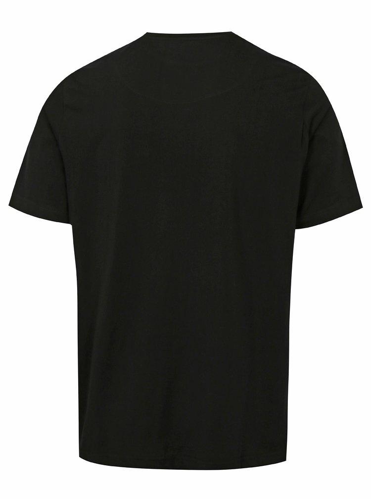 Černé tričko s náprsní kapsou JP 1880