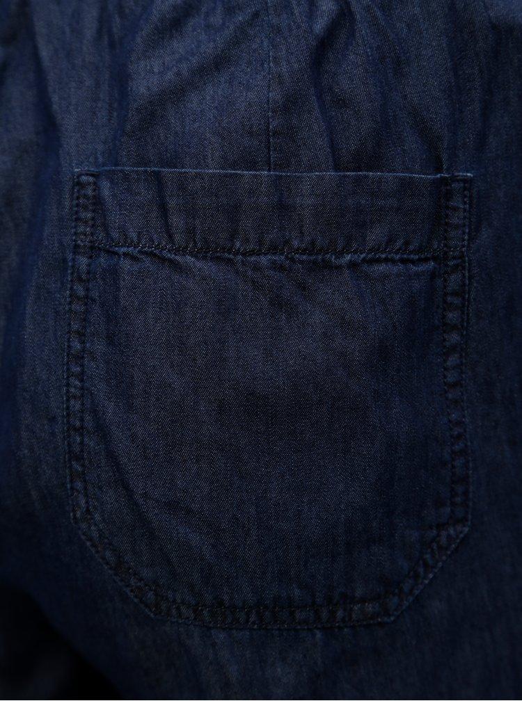 Tmavě modré straight kalhoty Ulla Popken