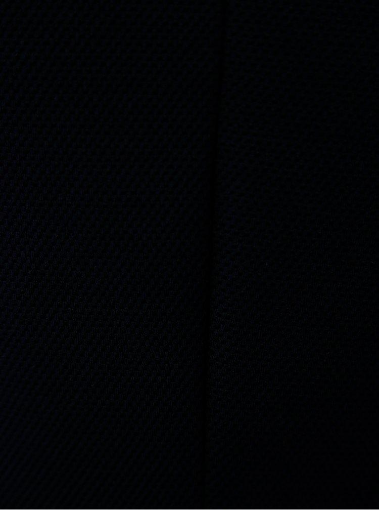 Rochie albastru inchis cu aplicatie Ulla Popken