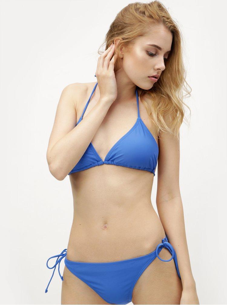 Modrý horní díl plavek VERO MODA Trille