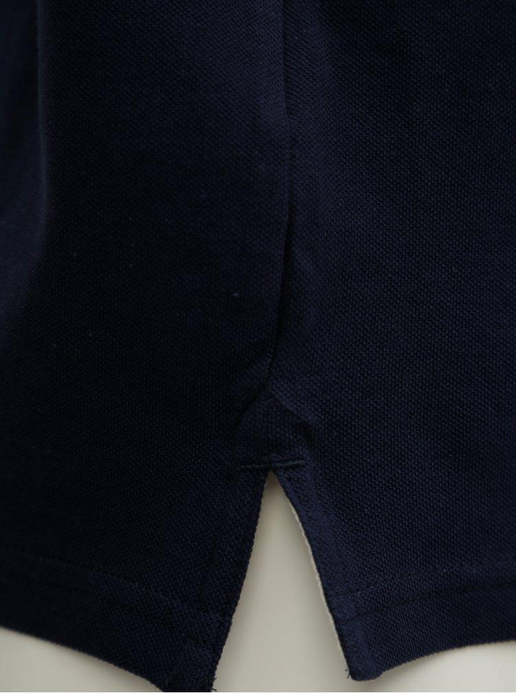 Tmavě modré polo tričko s logem Jack & Jones Retro Jack