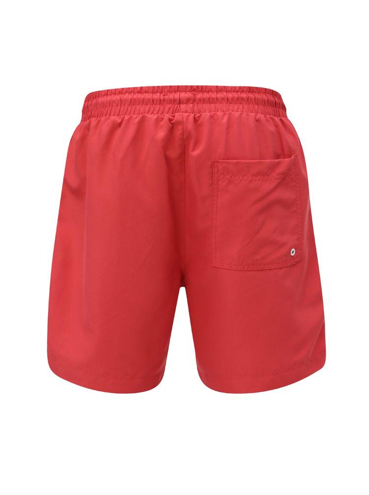 Červené pánské plavky M&Co