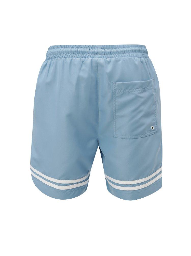 Modré pánské plavky M&Co