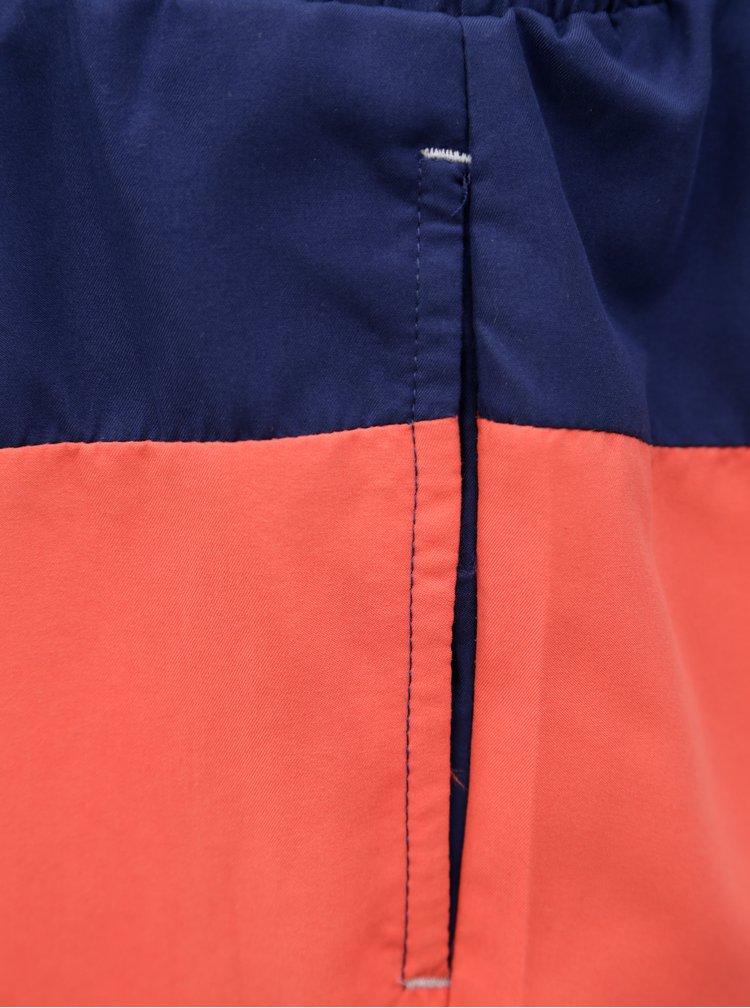 Červeno-modré pánské plavky M&Co