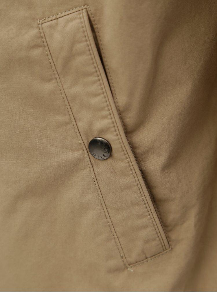 Béžová pánská bunda Tommy Hilfiger