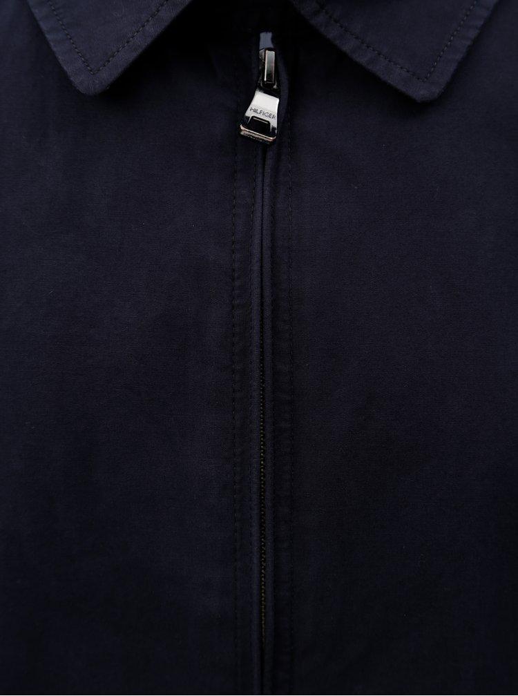 Tmavě modrá pánská bunda Tommy Hilfiger