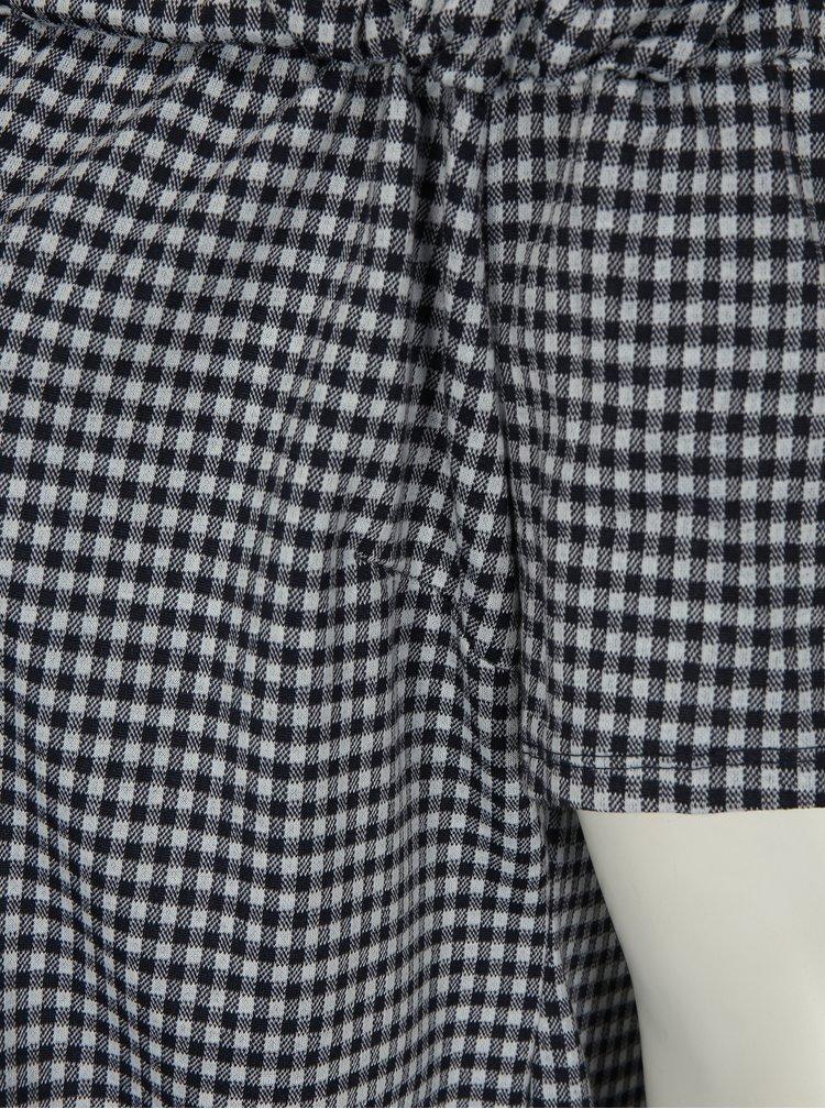 Bílo-modrá halenka s odhalenými rameny Dorothy Perkins Curve