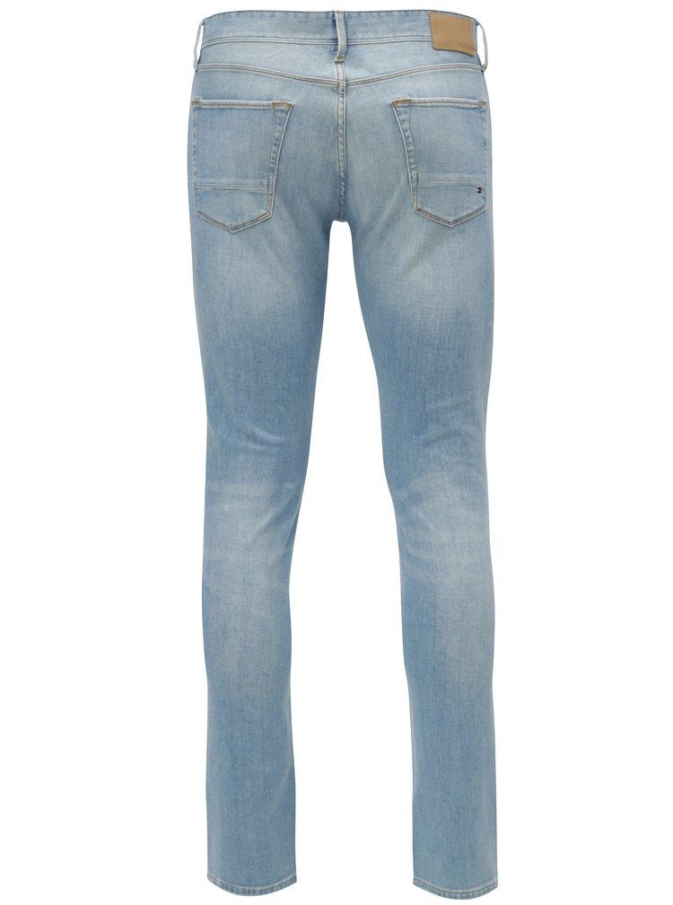 Světle modré pánské straight fit džíny Tommy Hilfiger