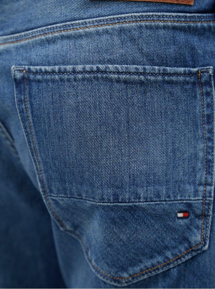 Modré pánské recyklované regular fit džíny Tommy Hilfiger