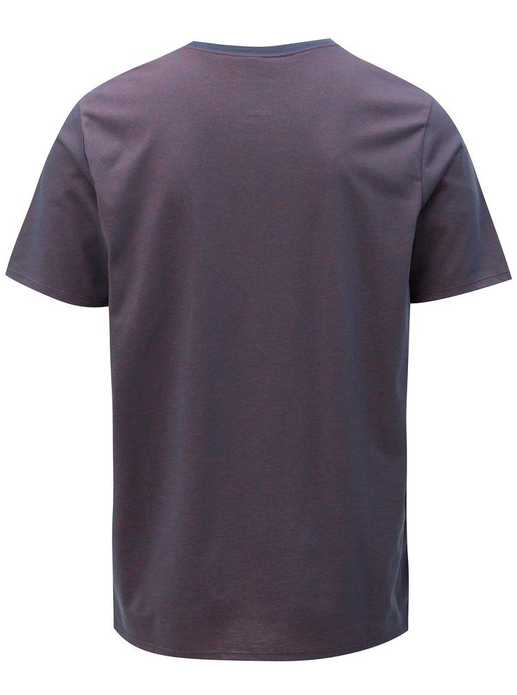 Fialové pánské funkční tričko Nike