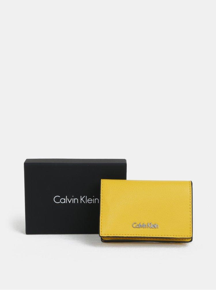 Žltá dámska peňaženka Calvin Klein Jeans
