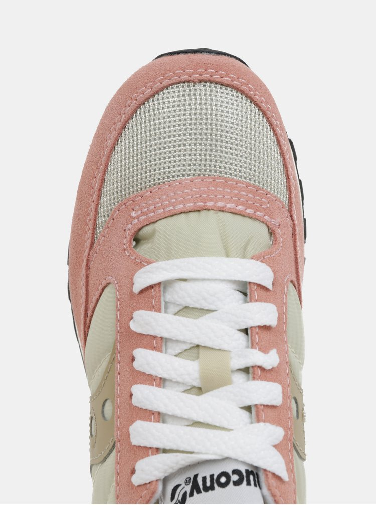 Růžové dámské tenisky Saucony Jazz O Vintage