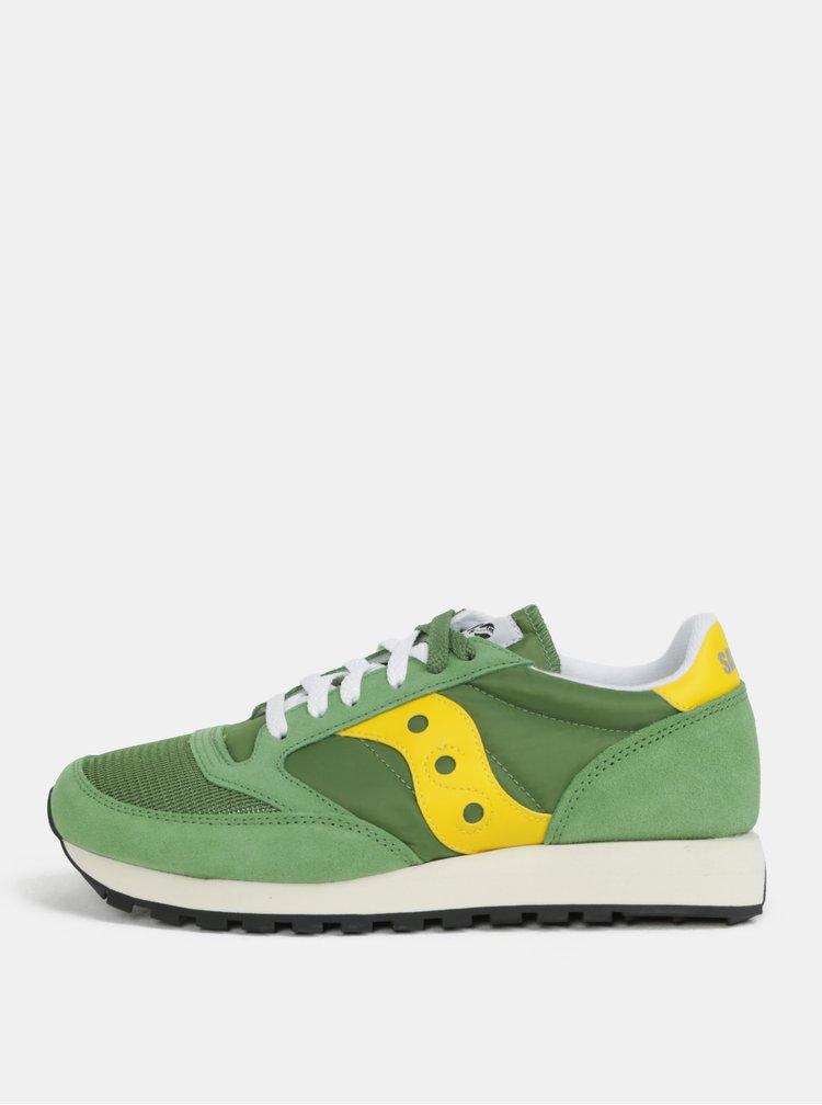 Žluto-zelené pánské tenisky Saucony Jazz O Vintage