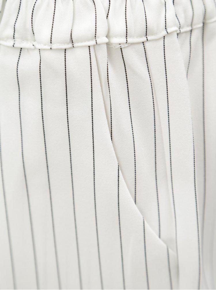 Bílo-černé pruhované kraťasy Blendshe Jade