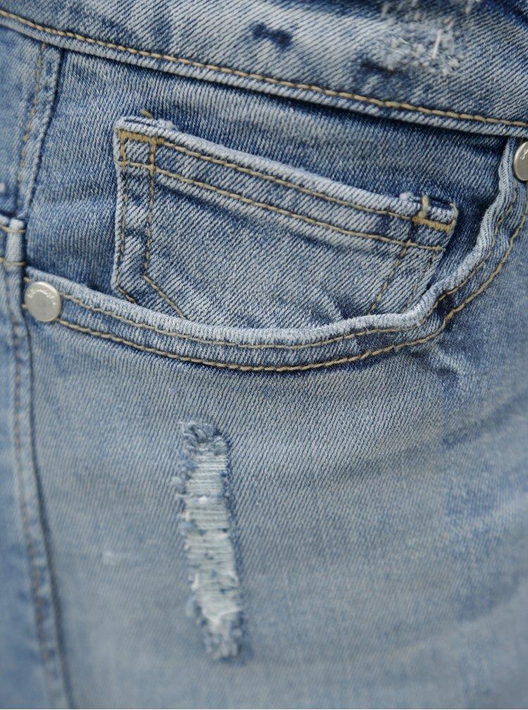 Světle modré džínové kraťasy Blendshe Casual Gemini
