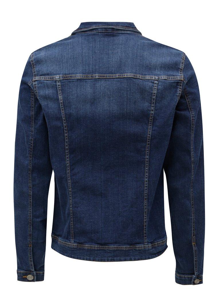 Tmavě modrá džínová bunda Blend