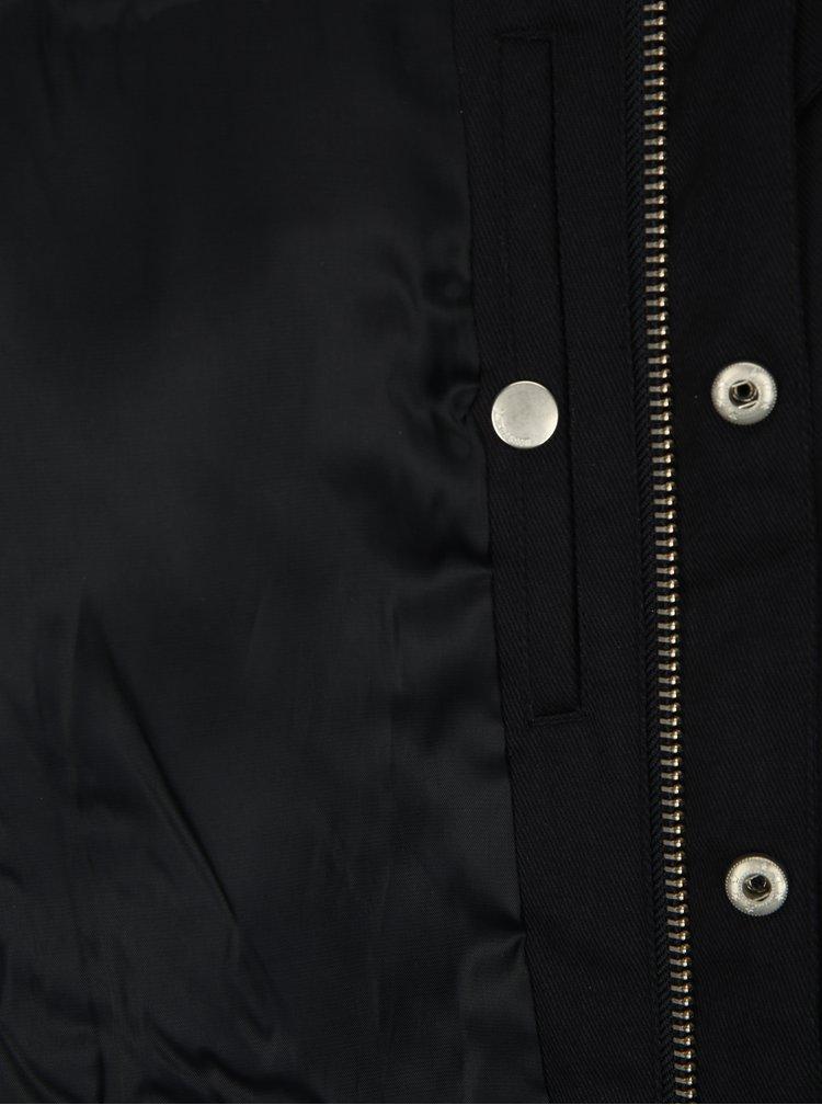 Tmavomodrá bunda Lindbergh