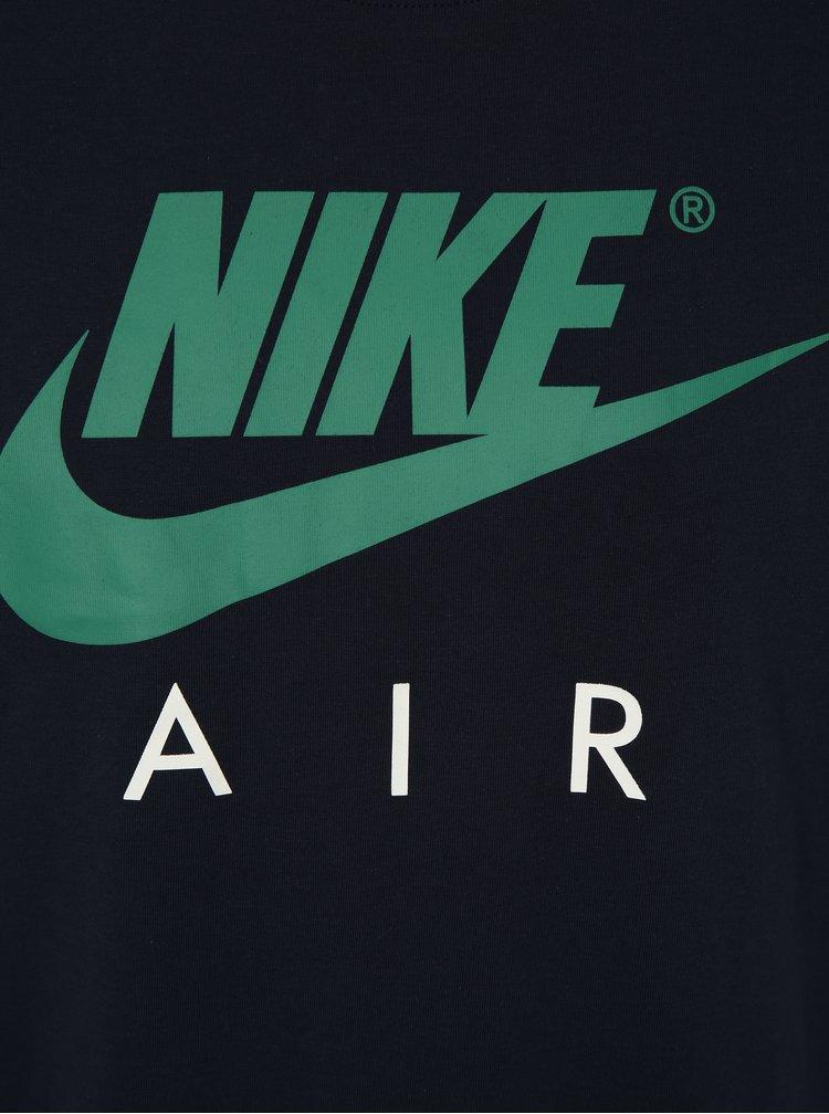 Modré pánské tričko Nike Tee air