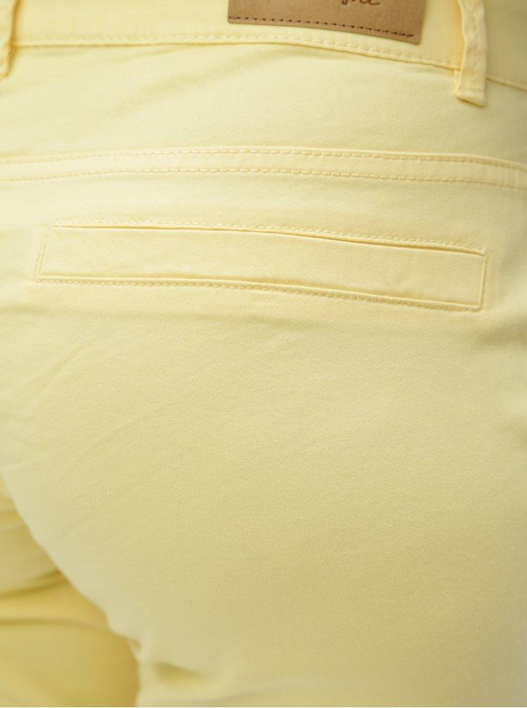 Pantaloni galben chino Blendshe Casual Aze