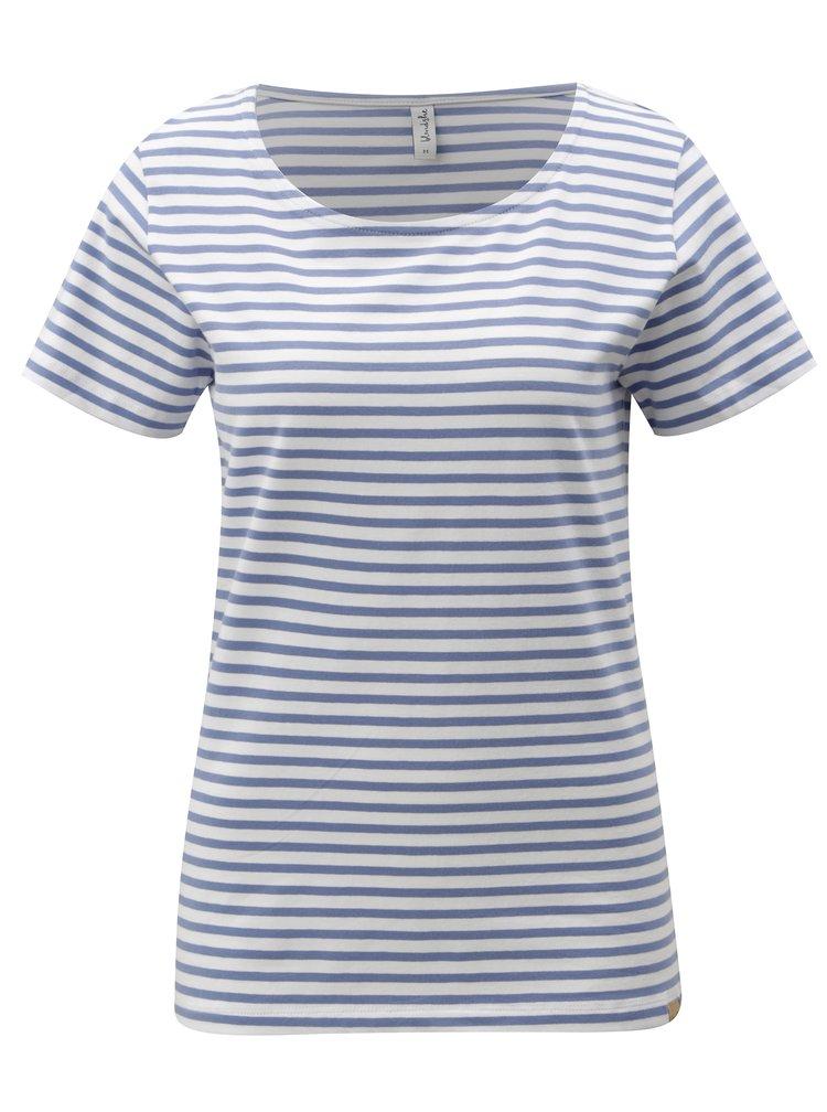Bílo-modré pruhované tričko Blendshe Jemima