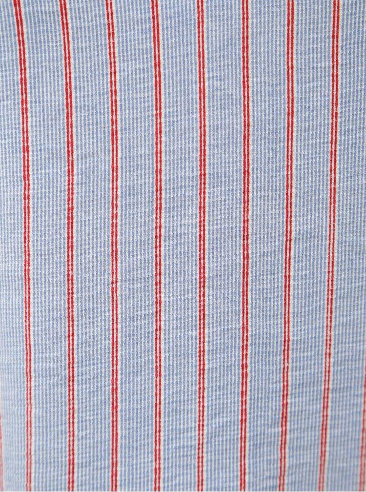 Modro-červený pruhovaný top na ramínka Blendshe Lulis