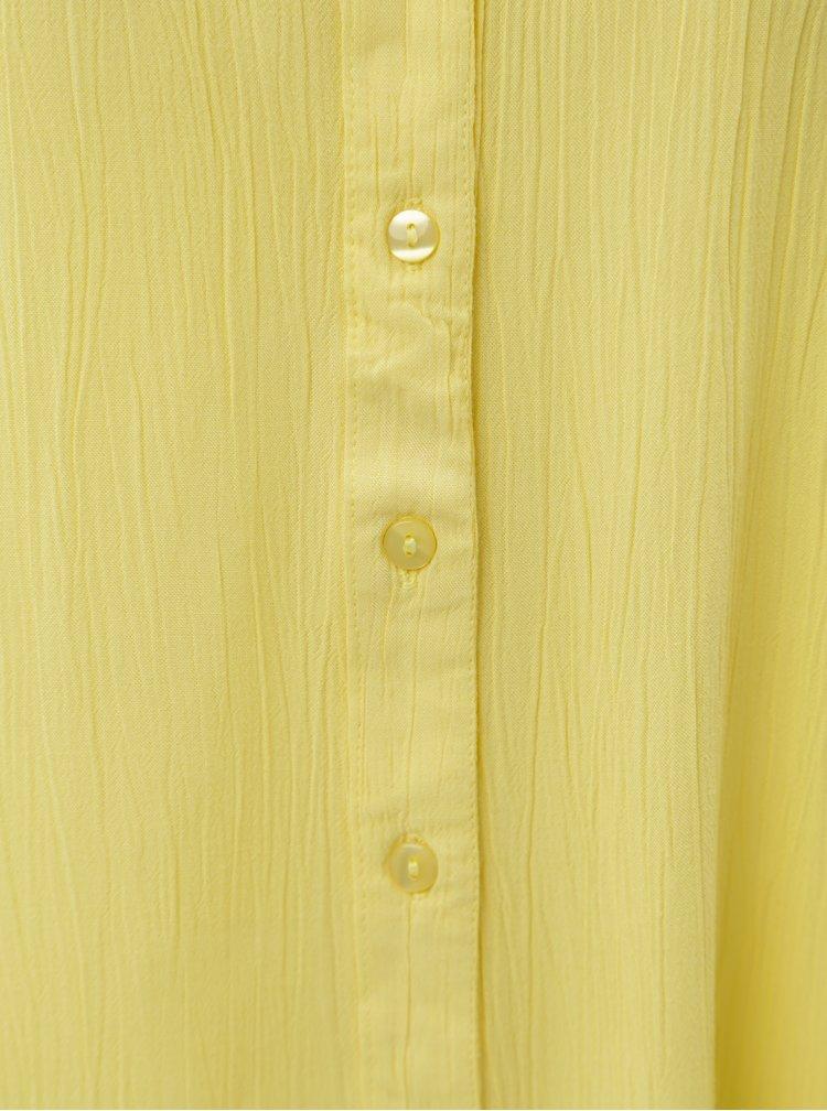 Žlutá halenka s krátkým rukávem Blendshe Jelena