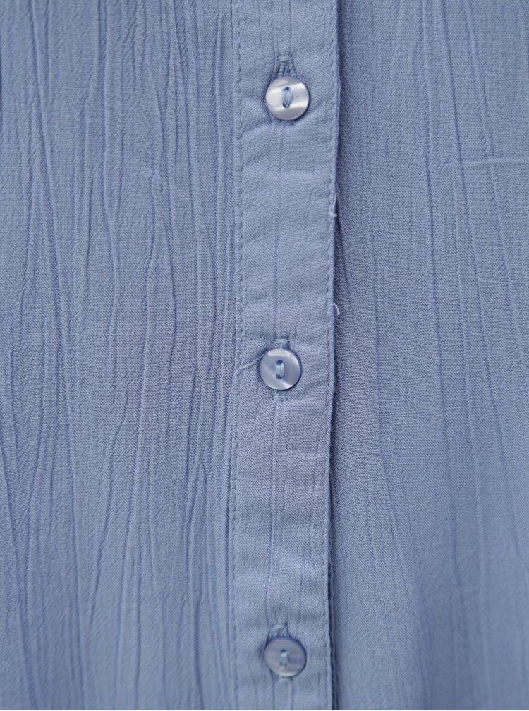 Světle modrá halenka s krátkým rukávem Blendshe Jelena